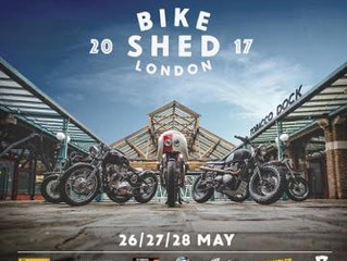 The BT-02 at Bike Shed London 2017