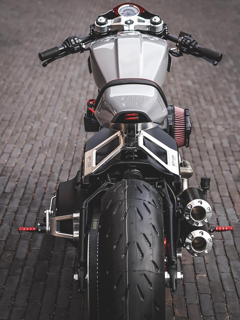 Cafe racer BT03 Harley Davidson Softail Fat Bob 114