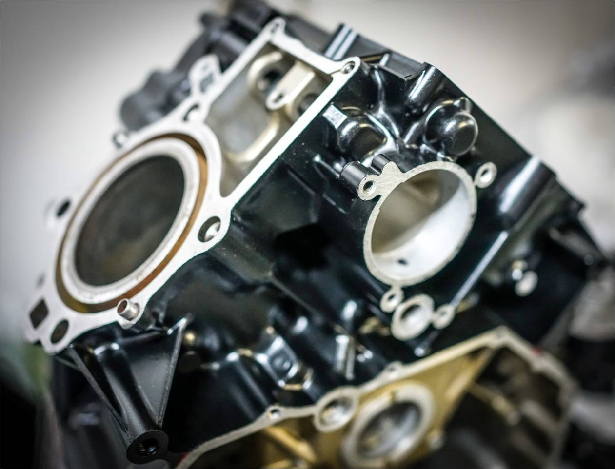Cafe racer BT01 Engine