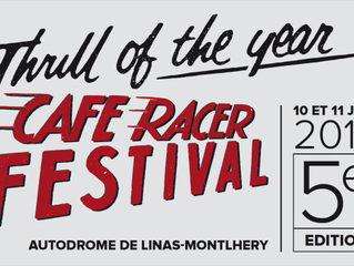 See you at Cafe Racer Festival in Paris!
