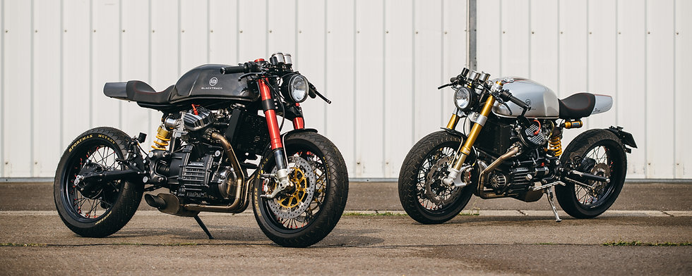 Cafe racers based on a Honda CX500