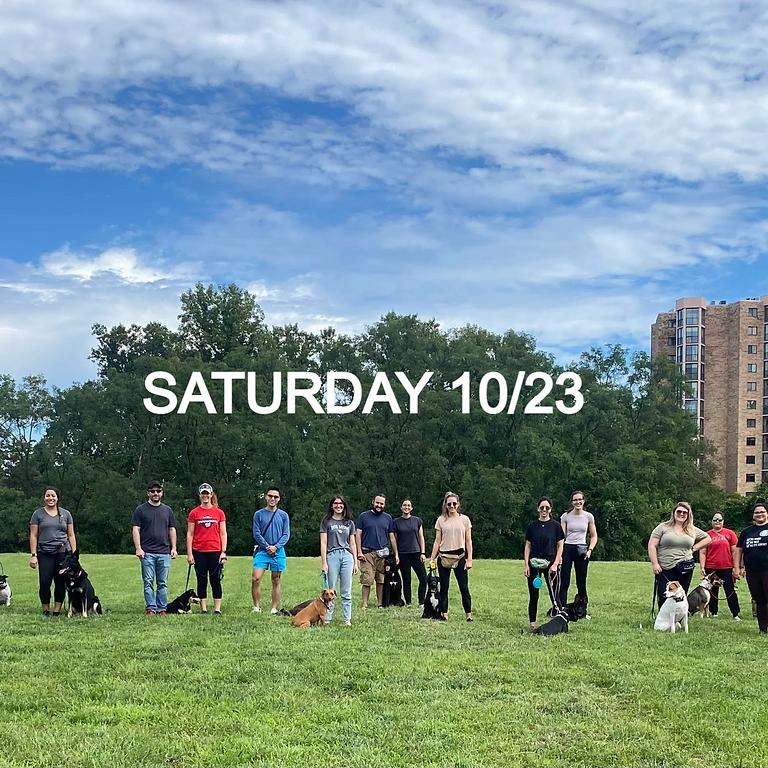 Saturday Group Class 10/23