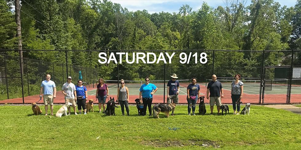 Saturday Group Class 9/18