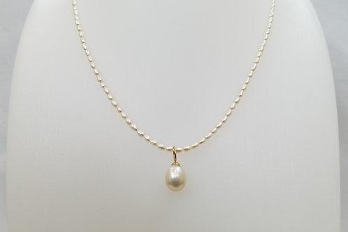 南洋真珠/淡水真珠/K18 40㎝