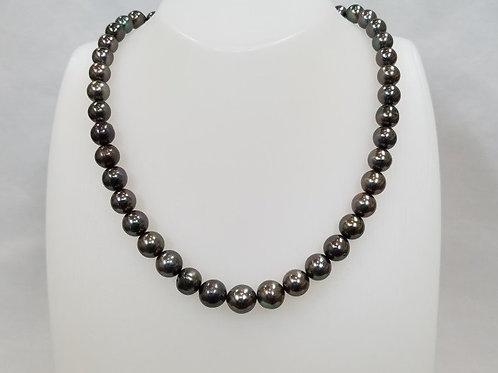 タヒチ真珠(8-10.9㎜) 44.5㎝