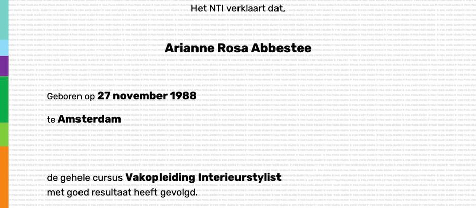NTI Opleiding Interieurstylist   Praktijkdagen & Review