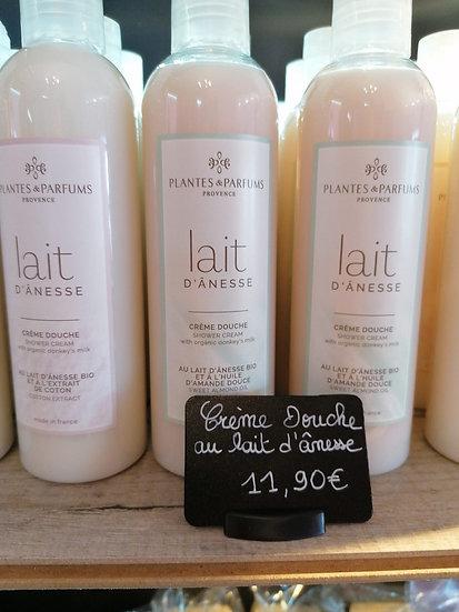 Crème de douche au lait d'ânesse