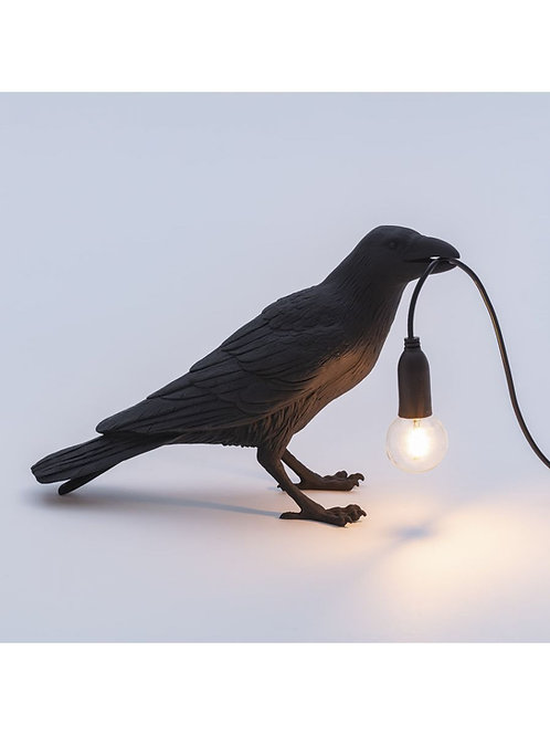 Bird Lamp SELETTI Black