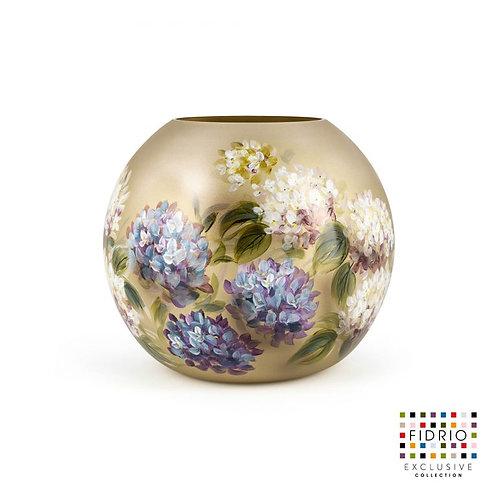 """Vase FIDRIO """"Hortensia"""" Peint à la main"""