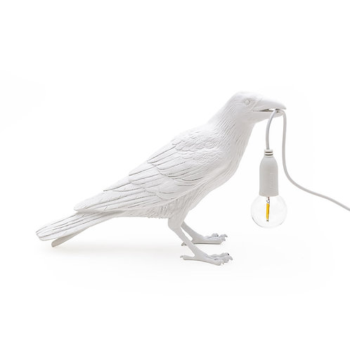 Bird Lamp SELETTI White