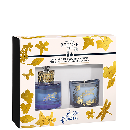 Duo Mini Bouquet & Bougie LOLITA LEMPICKA Parme