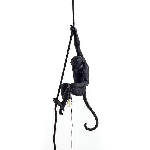 Lampe SELETTI Monkey Ceiling Black