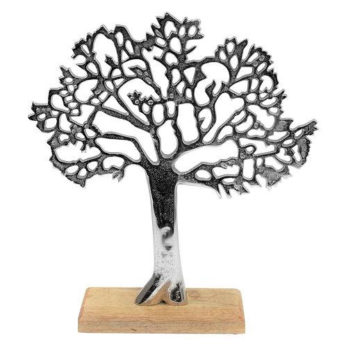Arbre de vie Aluminium/bois