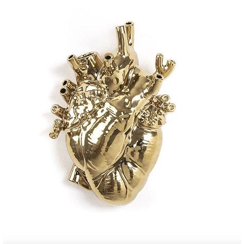 Vase Love In Bloom Gold SELETTI