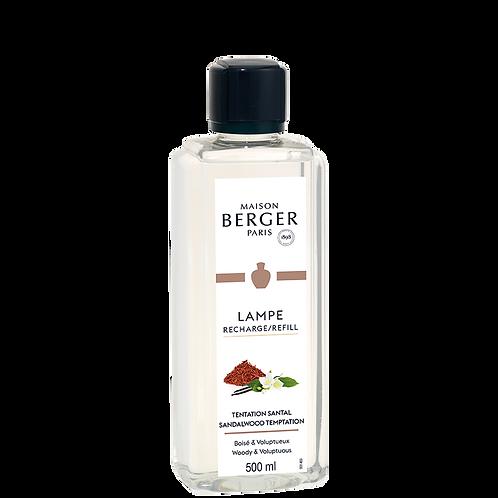 Parfum tentation santal 500ml