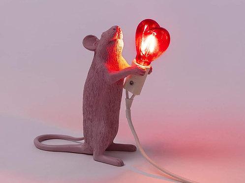 Mouse Lamp Love Edition SELETTI