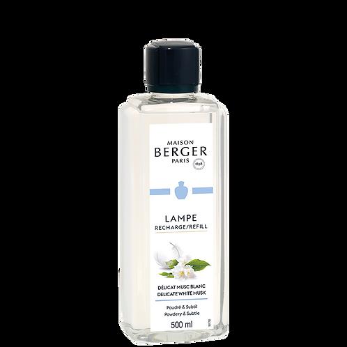 Parfum délicat musc blanc 500ml