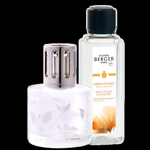 Coffret Lampe + Parfum Aroma energy