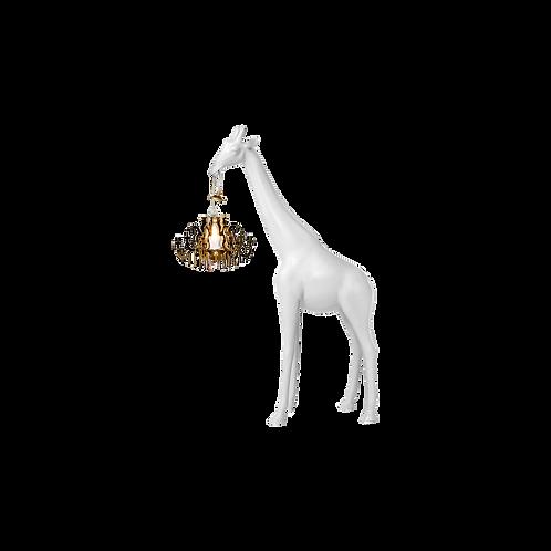 Lampe Giraffe in Love QEEBOO Blanche