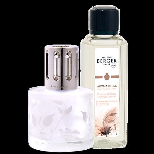 Coffret Lampe + Parfum Aroma relax