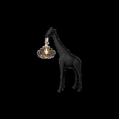 Lampe Giraffe in Love QEEBOO Noire