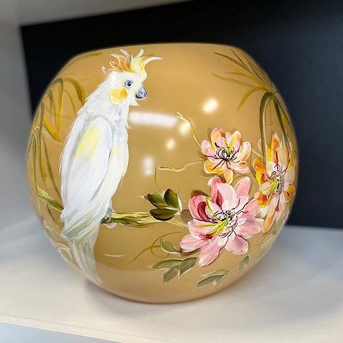 "Vase FIDRIO ""Exotic"" peint à la main"