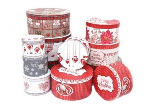 Set de 12 boîtes Noël