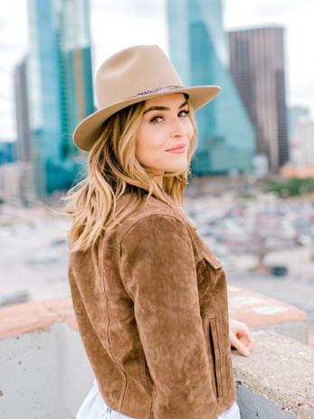 Downtown Dallas portrait session