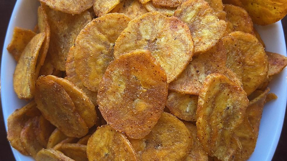 Red Pepper Banana chips