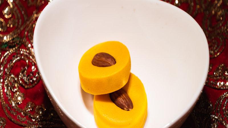 Almond Poori/Peda