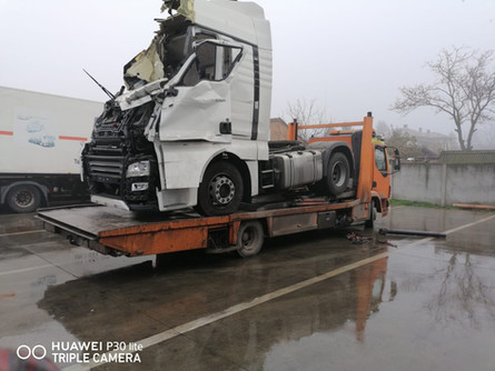 Tractare Camion