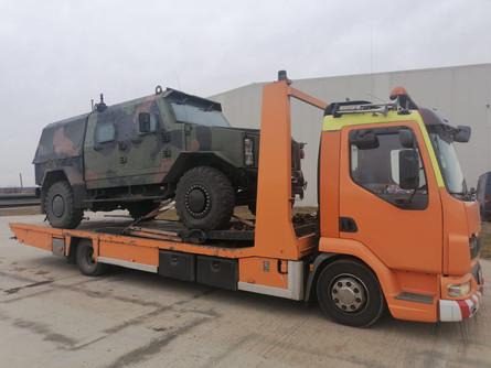 Tractare Autoturism Auto Militar