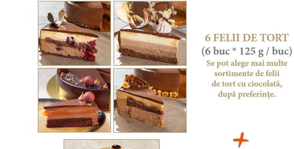Pachet 6 Cake Slices