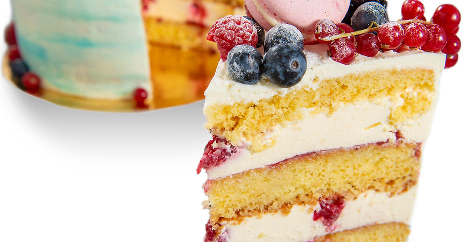 Tort Raspberry Vanilla