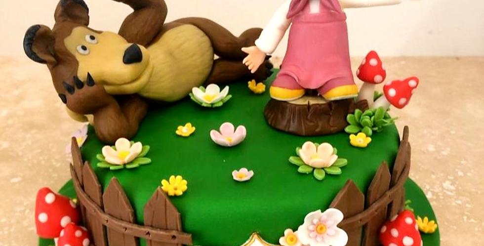 Tort Masha si Ursul