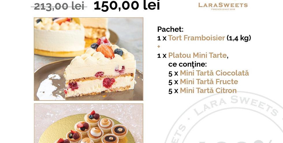 Pachet Cake & Mini-Tarts