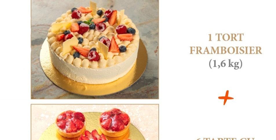 Pachet Cake & Midi Tarts