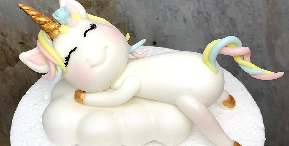 Figurina Unicorn pe Nor