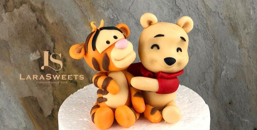 Figurina Winnie & Tiger