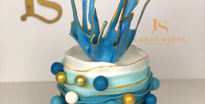 Tort Crystal Blue