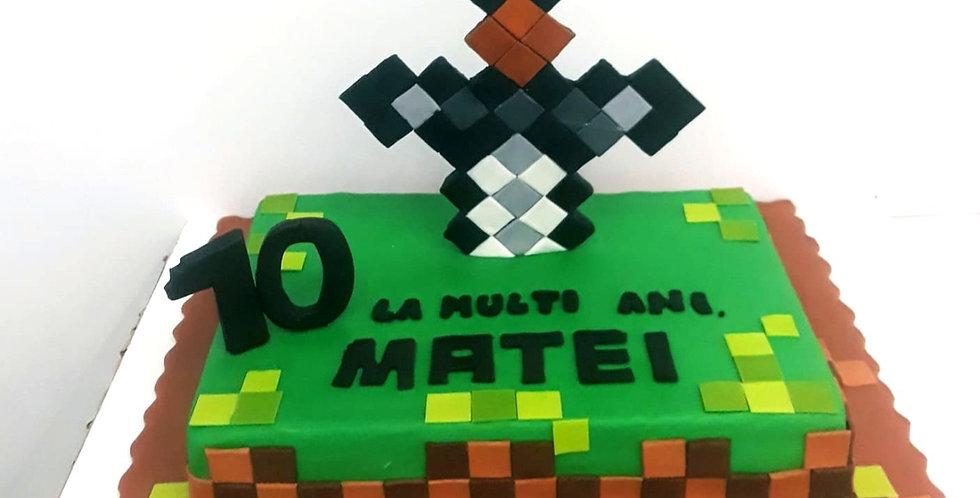 Tort Sabie Minecraft