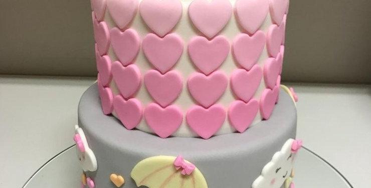 Tort Inimioare Roz