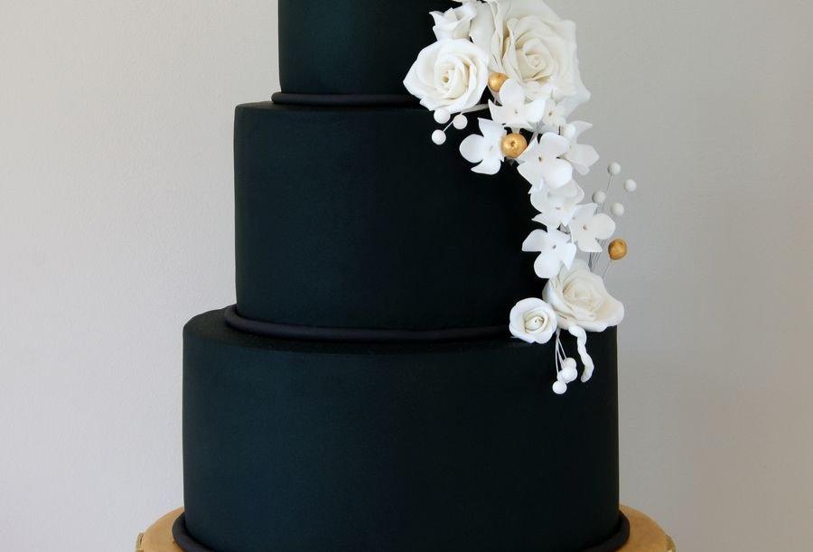 Tort Art Deco Royal Black