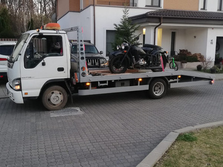 Tractare motocicleta