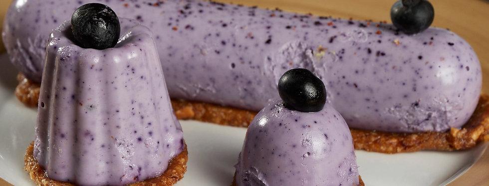Raw Vegan Blueberry Finger