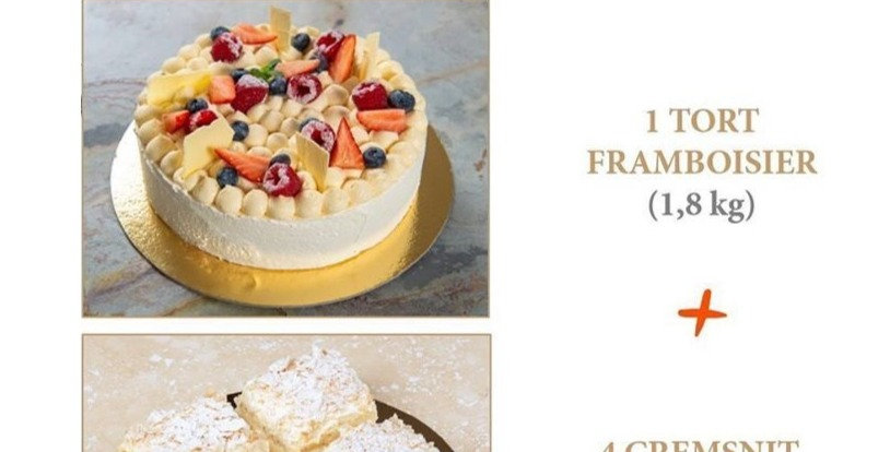 Pachet Cake and Cremsnit