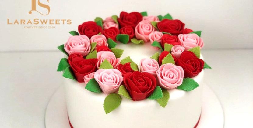 Tort Rose Garden
