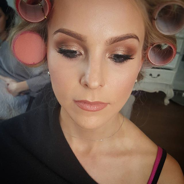Beautiful Sophie rocking her #bridal trial #makeup #mua #blushingbride #dorsetmua #dorset #somerset