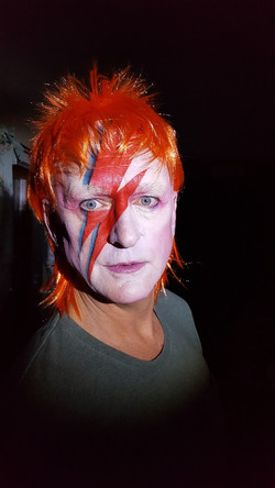 My Dad as Bowie!!