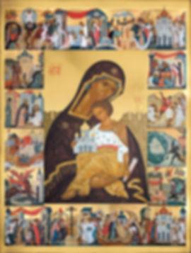 икона новорусская богоматерь